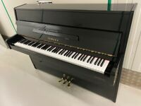 Black Gloss Yamaha C110 Upright Piano - B1 - Delivery