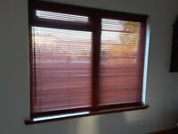 Wooden ventian blinds