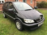 Fantastic Value 2005 55 Zafira 1.6 Life 7 Seater People Carrier 12 Mth MOT Very Economical HPI Clear