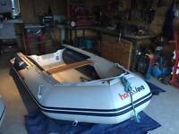 Honwave t32 Boat Rib