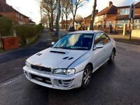 Subaru Impreza Turbo 1997, New Cambelt Kit, Needs Bodywork, Part Service Logs £1195 *Project*
