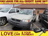 2003 Ford Escape XLS * AS IS * JUST IN
