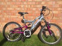 20inch wheel kids ammaco mountain bike