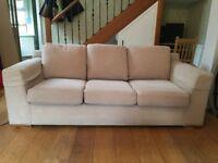 3 Seater Mark & Spencer sofa bed