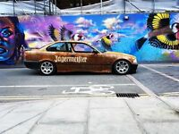 BMW jagermeister Art Car Concourse show piece Rat hot rod drift out law race classic