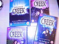 Jonathan Creek - series 1-5,Christmas Specials and 3 movies