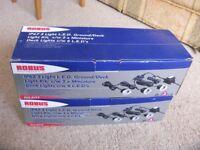 Deck/Ground light kit ROBUS IP67 3 light LED - 2 unused sets