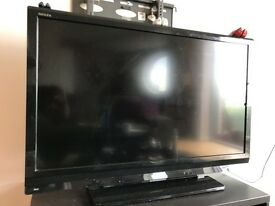 USED Toshiba Regza 42AV635DB 42 inch Widescreen Full HD 1080p LCD TV with Freeview and Resolution +