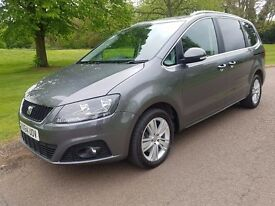 Seat Alhambra 2.0 TDI Ecomotive SE 5dr (start/stop) 2014 140bhp JUST 22000 MILES Warranty included