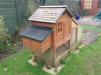 Chicken Coop, Run, and Accessories. Everything Needed to Start Keeping Chickens.