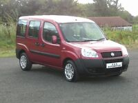 FIAT DOBLO 1.4 ACTIVE (WHEELCHAIR ACCESSIBLE) 12 MONTHS M.O.T 6 MONTHS WARRANTY (FINANCE AVAILABLE)