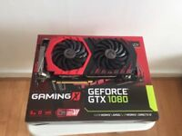 MSI GeForce GTX 1080 GAMING X RGB 8GB GDDR5X VR Ready Graphics Card - 2 Available - Like New!!