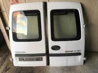 Vauxhall Combo rear doors