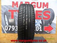 AA.37 1X 215/55/18 99V 1X6MM TREAD CONTINENTAL PREMIUM CONTACT 2E - USED TYRES