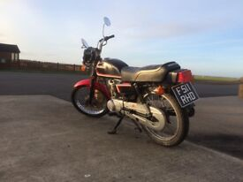 CG125 Brazil, low mileage in good condition.