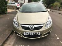 2008 (58) Vauxhall Corsa 1.3 Cdti 1 owner from new