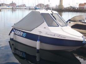 raider 16 wheelhouse fast fishing boat