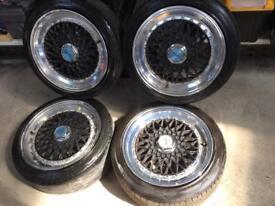 "Lenso rep alloy wheels 16"" 4/108 ford Peugeot Citroen"