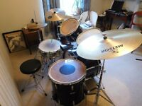 Premier Drum Kit 1970's timber frame kit. Great quality drums for playing live or at home