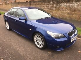 2006/56 BMW 525D M SPORT AUTO SALOON BLUE