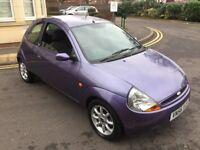 FORD KA 1.3 PETROL,12 MONTHS MOT,LOW MILEAGE,LOW INSURANCE GROUP.