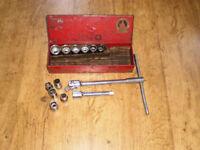 """Tipco 1/2"""" Socket set old tools (See discription below)"""