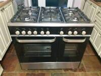 Kenwood double oven gas cooker