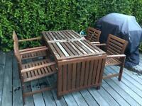 ÄPPLARÖ applaro chairs & drop-leaf table