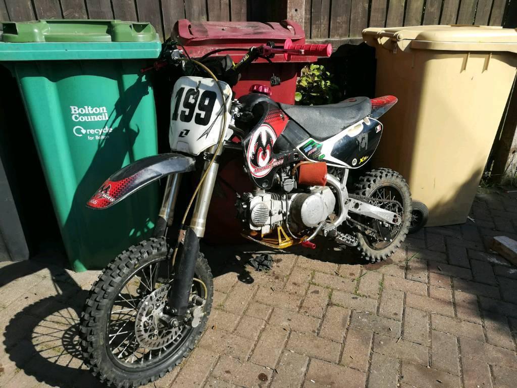Forbeton dedans rare monster moto sxf yx140 racing pit bike crf 110 crosser yz cr