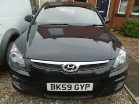 Hyundai 130 diesel 6 speed HACHBACK IN BLACK 5 DOOR ENGINE JUST CHANGED THAT AS DONE 66K ONLY