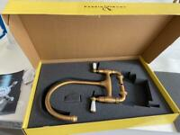 PERRIN AND ROWE IONIAN 4183 KITCHEN SINK MIXER TAP (AGED BRASS) BRAND NEW