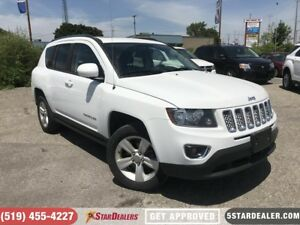 2016 Jeep Compass High Altitude | LEATHER | ROOF | 4WD