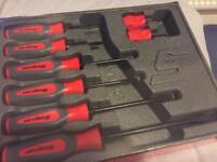 Snap-on screwdrivers