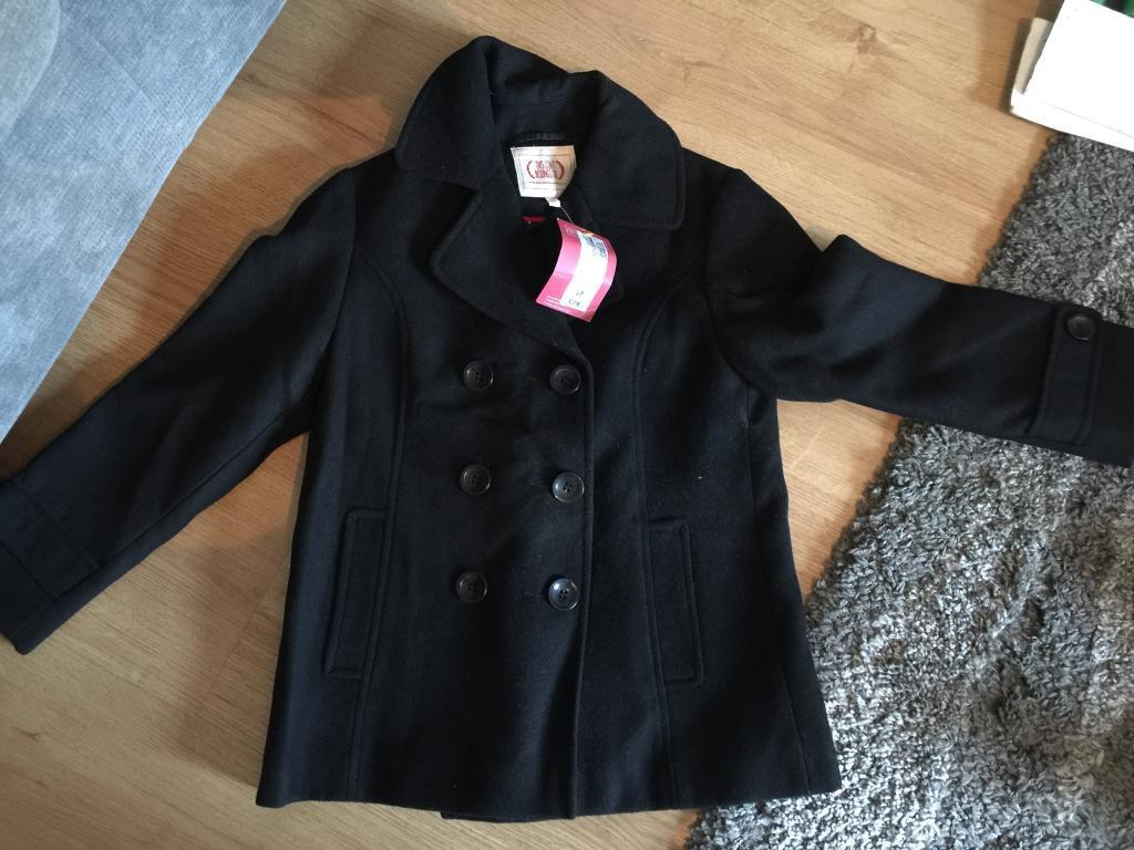 M&S girls coat age 7-8 (£28 new!) brand new with tags, smoke/pet free house