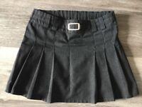 Girls school uniform M&S skirt