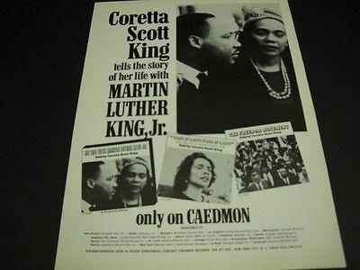 Coretta Scott King Talks About Martin Luther King Jr  Original 1972 Promo Ad