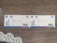 2 Tickets Scotland v Samoa Rugby at Murrayfield Saturday 11th November
