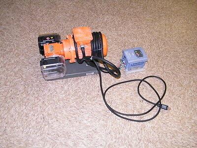 Watson Marlow Peristaltic Pump W 2 Heads 520r2c 13hp Nord 1si40 520r 2c Fluid