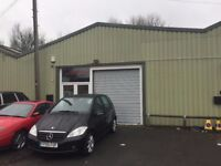 1900 sq ft secure commercial workspace unit or store/showroom roller shutter - Leyland South Ribble