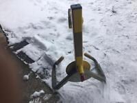 Bulldog wheel lock (1key)