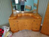 Bedroom set, 1950s, great condition