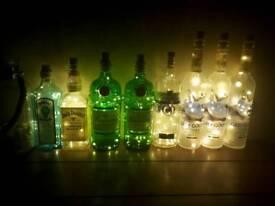 Gin/Vodka bottle lights
