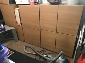 Kitchen wall cabinets - oak veneer - 12