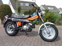 Suzuki rv 125 sand bike, 1978, , lightly restored to show condition, stunning cool bike.