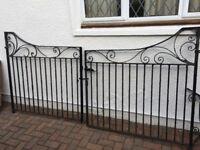 Wrought Iron driveway / Garden Gates