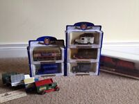 COLLECTION OF MODEL CARS AND TRAIN