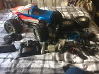 Monster truck petrol rc