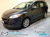 2013 Mazda MAZDA5 GT Heated leather seats - Low miles!