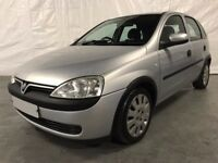 2003 Vauxhall Corsa 1.2i 16V Club 5dr *** FULL YEARS MOT ***
