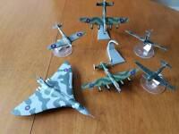 Collectors Items - Vintage Set of 6 Die Cast Model Corgi Aviation Archive WW 2 Planes